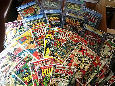 Superb Grab Bag lot, Spider-Man, Batman, Hulk, X-men, Superman, Avengers 181 1