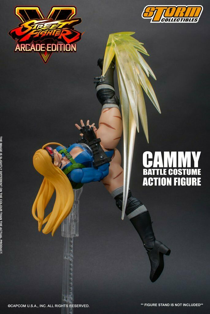 STORM COLLECTIBLES Street Fighter V Arcade Edition - Cammy (battle Costume)