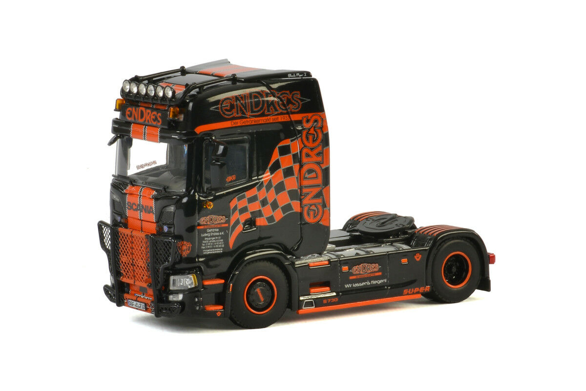 WSI 01-2482 endres scania s highline cs20h 4x2  German supertrucks  nuevo en el embalaje original
