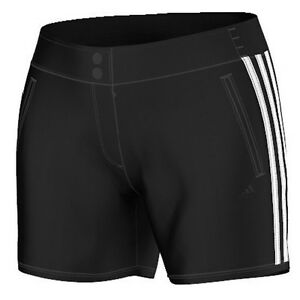 Size Adidas New Shorts Black Climalite Women's Woven Ab0040 Genuine 5OAOqr8