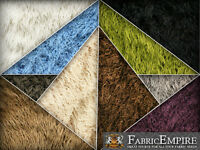 Faux Fur Long Pile Curly Fabric Alpaca / 60 Wide / Sold By The Yard