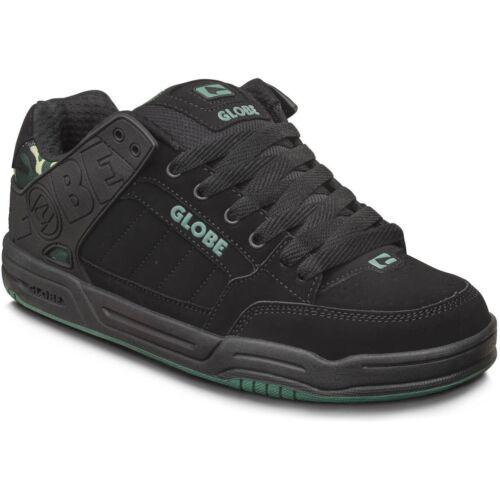 Herrenschuhe Frau Skate GLOBE Schuhe Neigung Black Camo 2019 Schuhe Chaussures