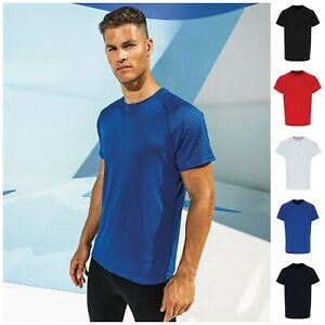 Mens Boys Breathable Short Sleeve T Shirt Wicking Cool Running Gym Top Sport Tee