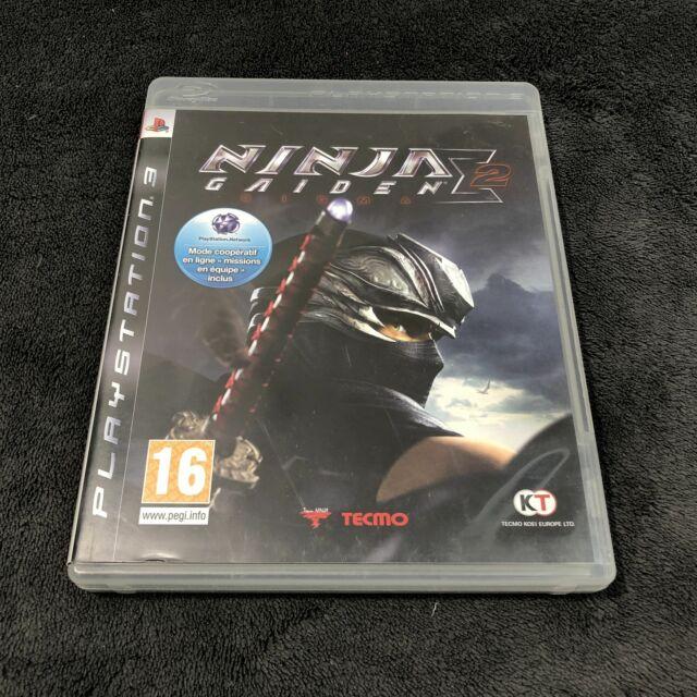 PS3 Ninja Gaiden Sigma 2 FRA CD état neuf