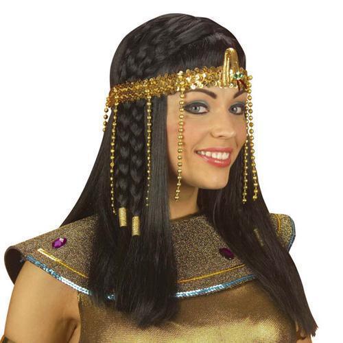 Pharao Schmuck CLEOPATRA KOPFBAND Ägypten Karneval Kostüm  S3289