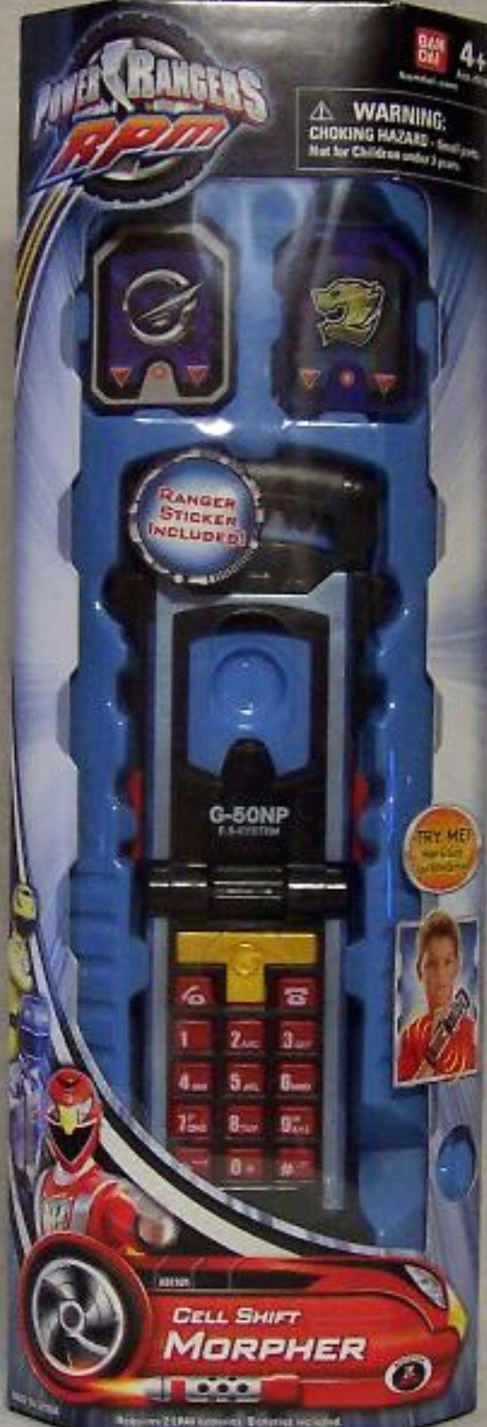 Power Rangers RPM Cell Shift Morpher New with Active Sounds Factory Sealed 2008