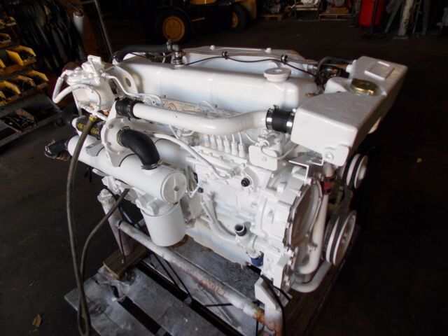 Ford/lehman Power Model 2728TI Marine Diesel Engines