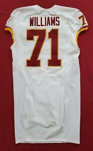 #71 Trent Williams of Washington Redskins NFL Locker Room Game Issued Jersey