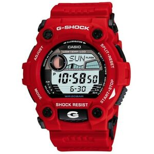 Casio-G-7900A-4ER-Mens-G-Shock-G-Rescue-Red-Watch-RRP-105