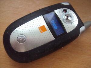 Rechercher Des Vols Facile Bon Marché âgées Pensionné Kids Senior Motorola V545 Sur Orange + Chargeur-afficher Le Titre D'origine