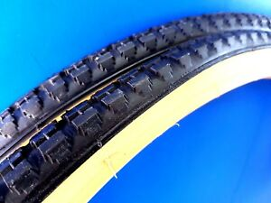 24x1-3//8 Gumwall Bicycle Tires 2x