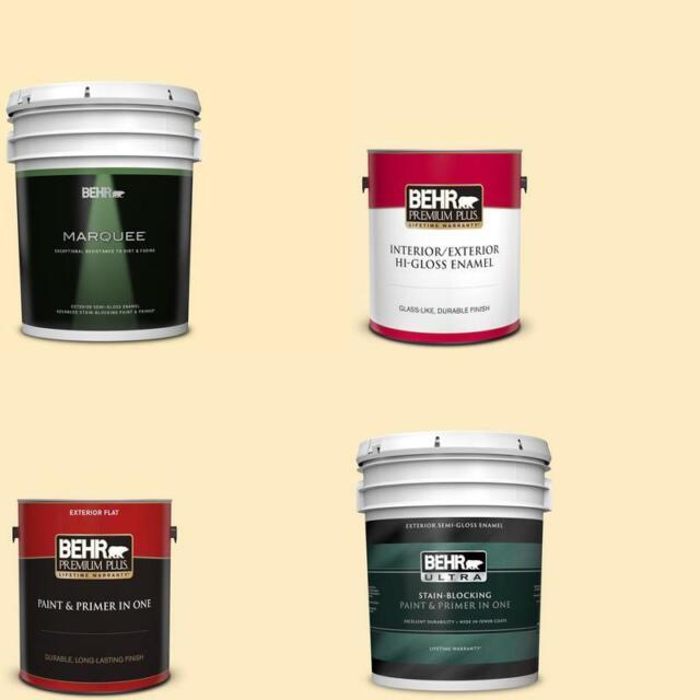 Behr Premium Plus Antique White Eggshell Enamel Interior Paint Mildew Resistant For Sale Online Ebay
