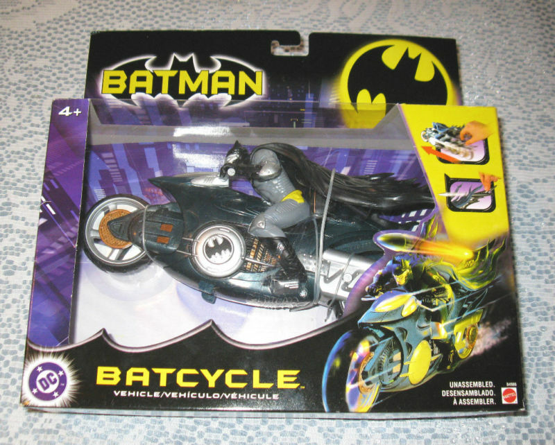 Special DC Batcycle by Mattel 2003 MB FREE SHIPPING