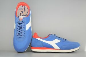 Diadora-heritage-Koala-SCONTO-50-Scarpe-uomo-sneakers-blu-azzurro-rosso
