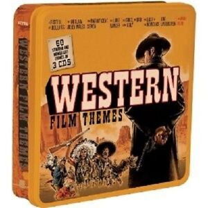 Western-Film-Themes-Limousine-METALBOX-Edition-3-CD-NUOVO
