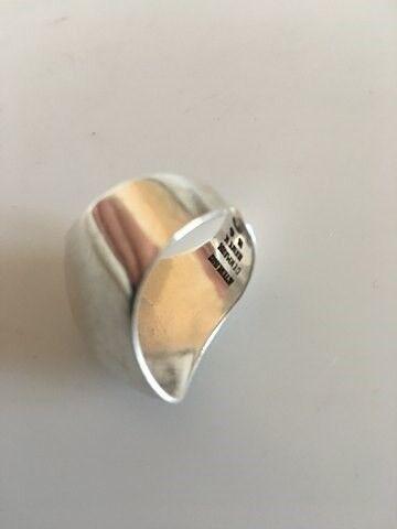 Ring, sølv, Bent Knudsen Sterling Sølvring #56