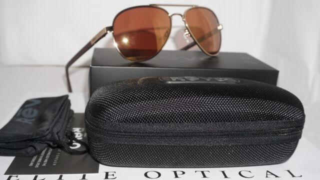 0e6278b4fea Revo Re 1011 04 or Raconteur Sunglasses Gold Open Road Polarized Aviator