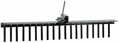 Impact Implements Landscape Rake with Tipper Latch for ATV//UTV /& 2 Receivers