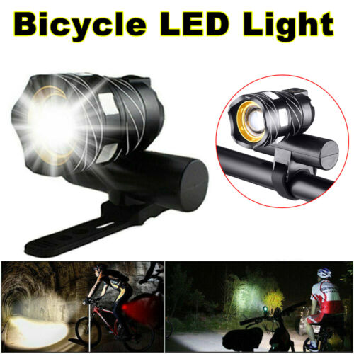 15000LM XM-L T6 Bicycle Light Bike Front Headlight LED MTB and USB Rechargeable