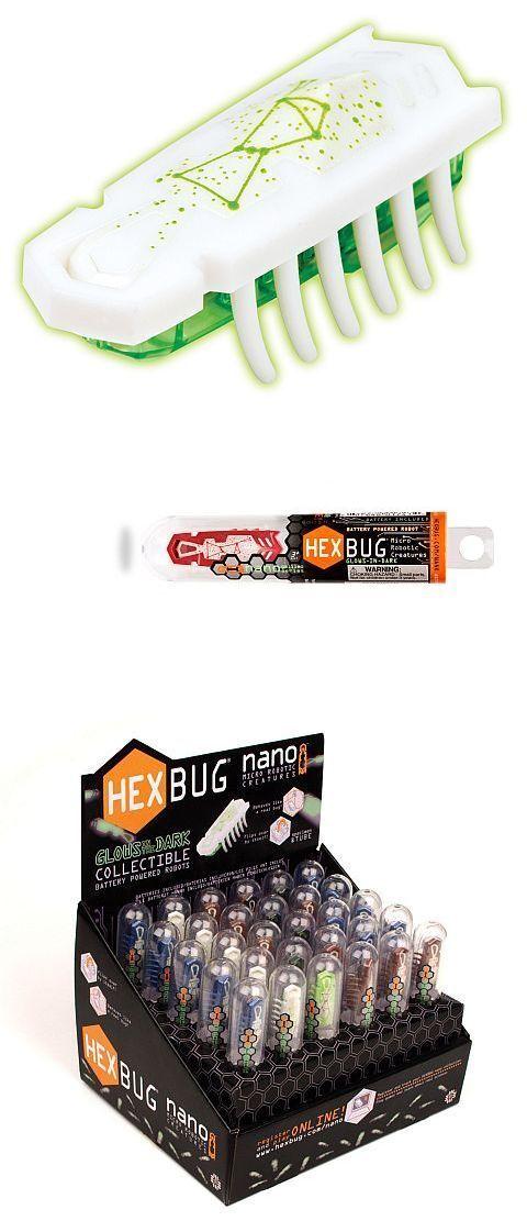 Hexbug Mini Roboter Toybots Nano Glow in the dark Krabbelkäfer Hex Beetle