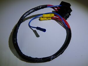 Lucas-Bosch-Three-Pin-Alternator-Plug-Pre-Wired-With-Connectors