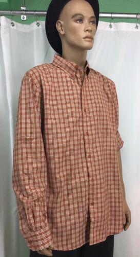 Chaps Multi Color Plaid Shirt Mens Size L 180611/M