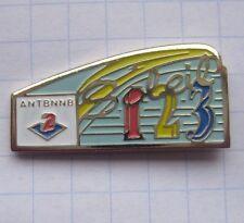 ANTENNE 2 / SOLEIL 1 2 3 ......... Sender-Pin (142a)