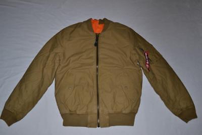 Alpha Industries MA-1 CTN Flight Jacket//Bomber Olive Drab MJM47505C1 MA1