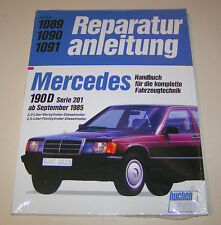 Reparaturanleitung  Mercedes 190 D W 201 Diesel - ab September 1985!