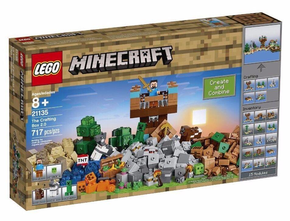 Lego Minecraft Handwerk Kiste 2.0 Set 21135