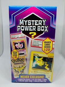 Pokemon-Mystery-Power-Box-Meijer-Graded-Karten-1-25-Vintage-Booster-Packs-1-10