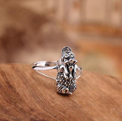G03 Ring Silber 925 Mit Markasit Pixiu Fabelwesen Glück Größenverstellbar Unterscheidungskraft FüR Seine Traditionellen Eigenschaften