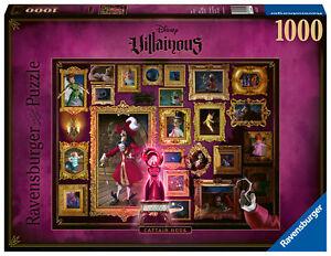 15022 Ravensburger Villainous Captain Hook, 1000pc Adult's Jigsaw Puzzle 12yrs+