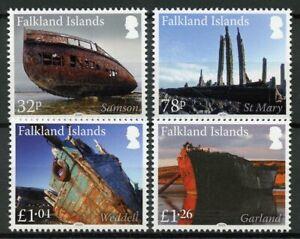 Falkland-Islands-Ships-Stamps-2020-MNH-Shipwrecks-Wrecks-Pt-IV-Nautical-4v-Set