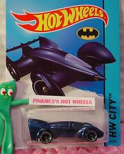 Case L 2015 Hot Wheels BATMAN LIVE! BATMOBILE #65∞Blue; sw5∞Batman