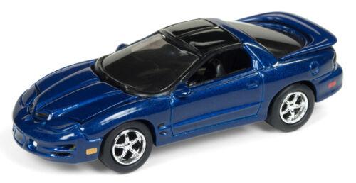 1999 Pontiac Firebird T//A ws6 Blue ** JOHNNY LIGHTNING muscle cars 1:64 OVP