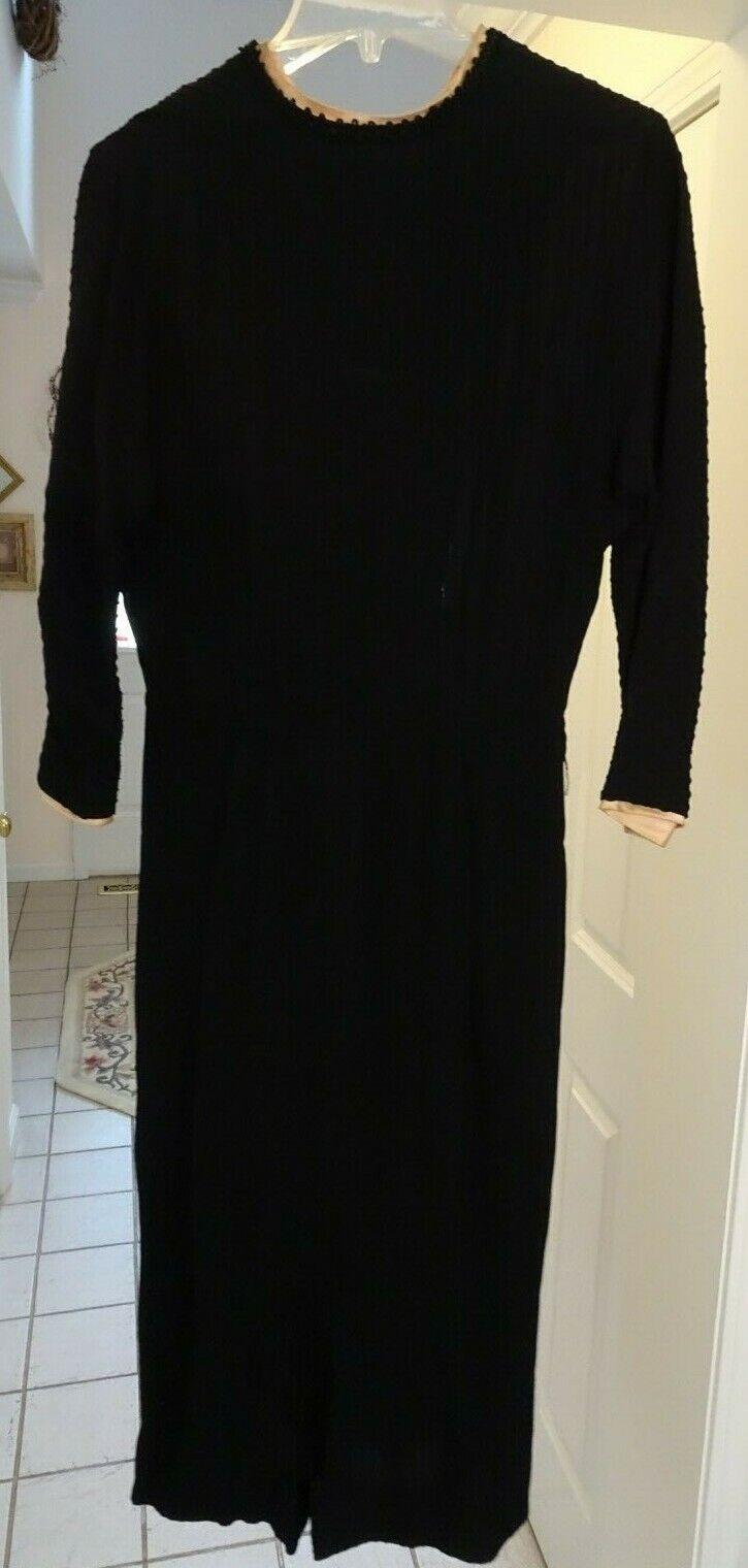 Vintage 40's Women's Dress, Sans Belt - image 2