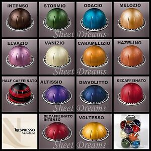 Nespresso VertuoLine Coffee and Espresso Capsules Sealed Sleeves ...