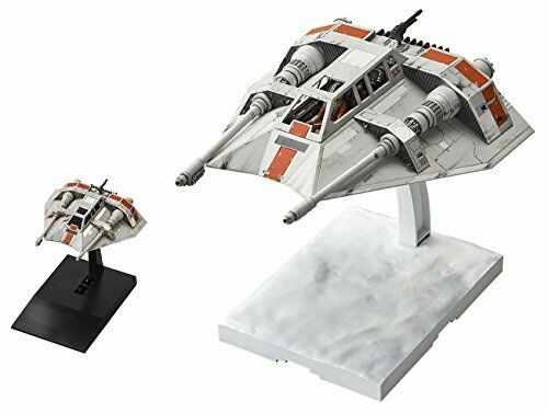 NEW Star Wars Snow Speeder set 1 48 and 1 144 scale plastic model