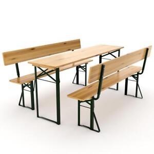 Bierzeltgarnitur-Festzeltgarnitur-Bierbank-Biertischgarnitur-Sitzgruppe-Holz