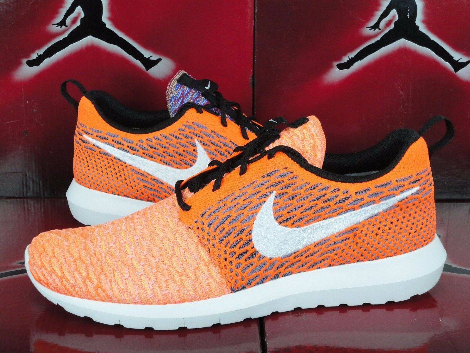 get cheap d40d4 b2ec4 lovely NEW NIKE ROSHE RUN NM RANDOM YARN MULTI-COLOR FLYKNIT 677243-100  MEN S