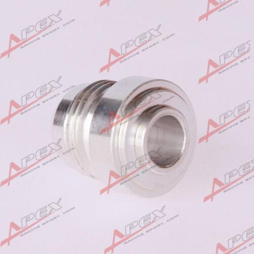 10 AN -10 AN10 AN Male Aluminium Weld Plug Fitting Round Base