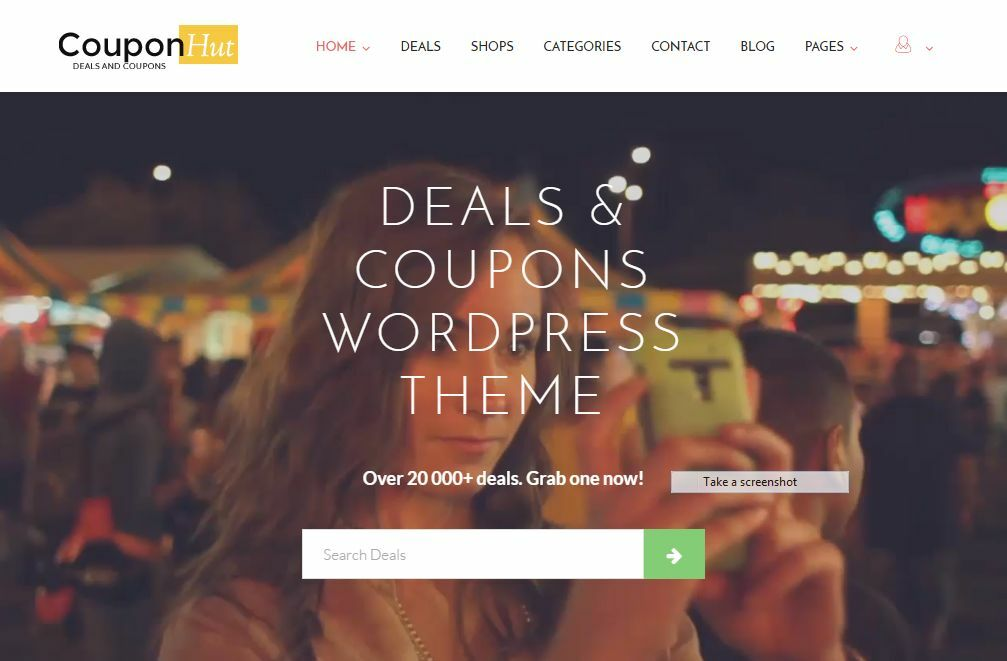 Enormous Coupon Store Website Free Installation+Hosting 1
