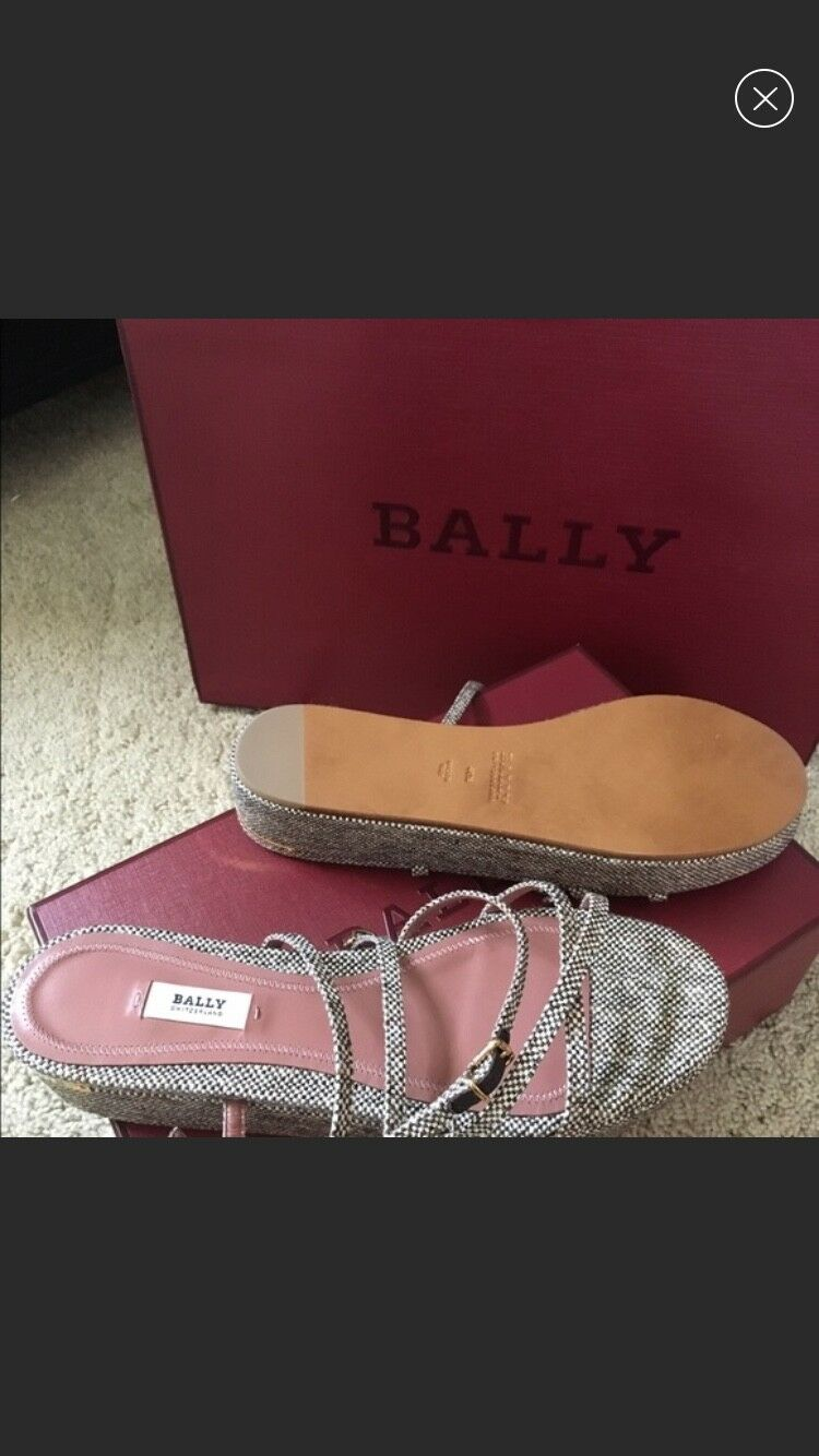 Bally mujer sandals new with box