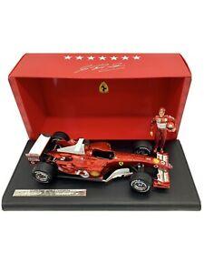 Hot-Wheels-1-18-2004-Ferrari-F1-Schumacher-7-Times-World-Champion-Lim-Ed-Low-11