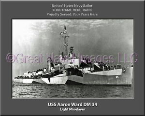 USS Canopus AS 34 Personalized Canvas Ship Photo Print 2 Navy Veteran Gift