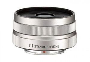 NEW-PENTAX-22067-Pentax-Q-01-Standard-Prime-Lens-SILVER-from-JAPAN