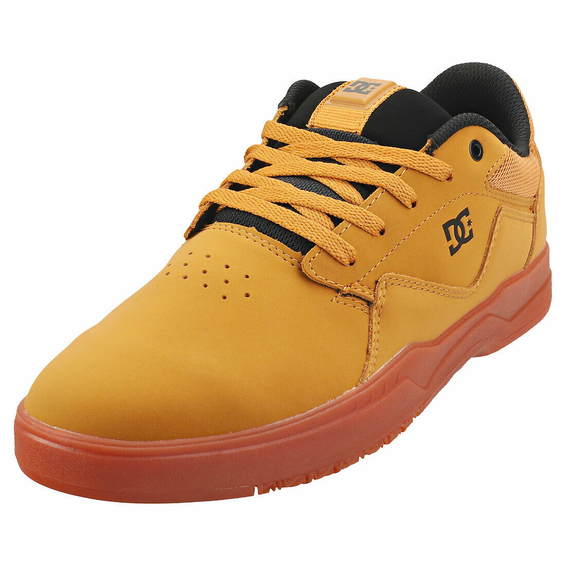 DC Shoes Barksdale Mens Wheat Skate Trainers - 9 UK