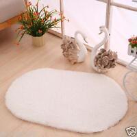 Non-slip Absorbent Oval Memory Foam Bath Bathroom Bedroom Floor Shower Mat Rug