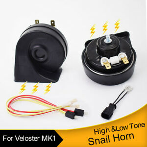 For-Hyundai-Veloster-MK1-11-17-Car-Horns-Loud-Waterproof-Dual-Tone-Snail-Horn